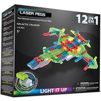 Laser Pegs Galactic Cruiser