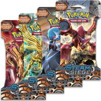 Pokémon XY Steam Siege Training Card Booster 4 Pack