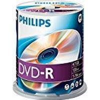 Philips DVD-R 4.7GB 16x Spindle 100-Pack