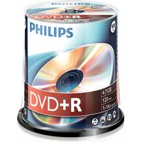 Philips DVD+R 4.7GB 16x Spindel 100-Pack