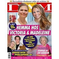 Tidningen Svensk Damtidning 40 nummer