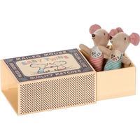 Maileg Newborn Tvillingemus i Box