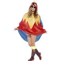 Smiffys Parrot Party Poncho