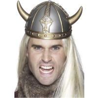 Smiffys Vikingahjälm med Horn - One size