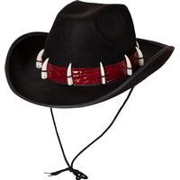 Wicked Costumes Ltd Australisk Hatt med Tänder - One size