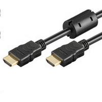 MicroConnect Ferrite HDMI - HDMI High Speed with Ethernet 15m