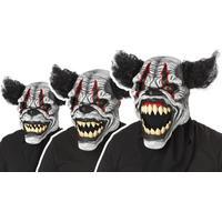Fancydresswarehouse Läskig Clown Ani-Motion Mask - One size