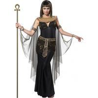 Fancydresswarehouse Cleopatra Svart Maskeraddräkt - Small