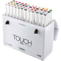 Touch Twin Brush Marker 48-pack