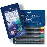 Faber-Castell Watercolor Pencils Art Grip 12-pack