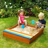 Plum Sandkasse med Opbevaring