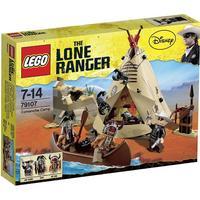Lego The Lone Ranger Comancheindianernas Läger 79107