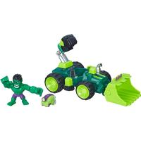 Hasbro Marvel Super Hero Mashers Hulk Smash Dozer Vehicle & Figure B6685