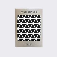 Ferm Living Mini Triangles Wallsticker