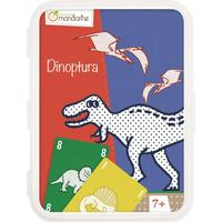 Kortspil fra Avenue Manderine - Dinoptura (7+)