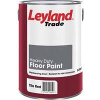 Leyland Trade Heavy Duty Floor Paint Grey 5L