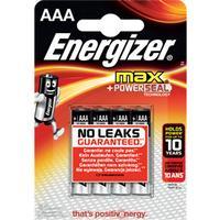 Energizer AAA MAX Alkaline Batteries 4-pack