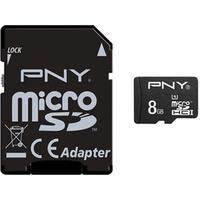PNY MicroSDHC Performance UHS-I U1 8GB