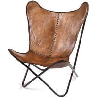Nordal Butterfly Leather Loungestol