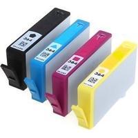 Rabatt! HP 364XL BK / C / M / Y kompatibel 70ml 4 st.