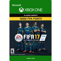 Electronic Arts FIFA 17 ULTIMATE TEAM 12000 Ultimate Team Points - XBOX One