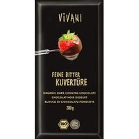 Vivani Blockchoklad Mörk 200g