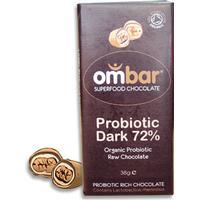 Ombar Probiotic Dark 72% 38g