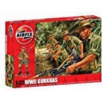 Airfix 1:32 WWII Gurkahs Figure Model Kit