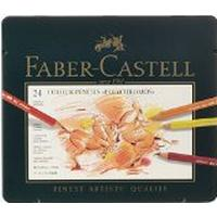 Faber-Castell Polychromos Colour Pencils Tin of 24