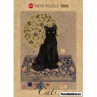 Heye: Jane Crowther - Cats, Black Cat (1000)