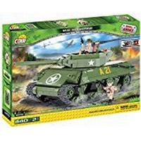 COBI 2475 Small Army-M10 Wolverine (450 Pcs) Toy, Green