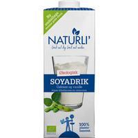 Naturli Soyadrik med Calcium & Vanille Ø (1 liter)
