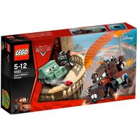 Lego Cars Agent Bärgans Flykt 9483