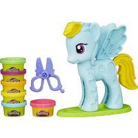 Hasbro Play-Doh Rainbow Dash Style Salon Featuring My Little Pony B0011