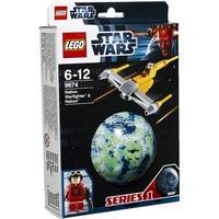 Lego Star Wars Naboo Starfighter & Naboo 9674