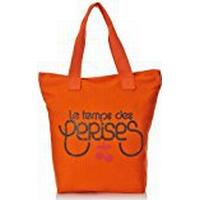 Le Temps des Cerises Women's Ruby Cotton Tote Orange orange Taille Unique