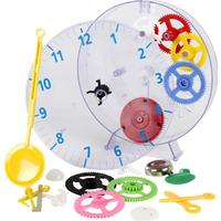 Techno Line Mekanisk Väggklocka lärobyggsats Techno Line Model kids clock 20 cm x 3.5 cm Transparent