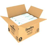 Pampers Baby-Dry Size 4 månadsbox 174 st