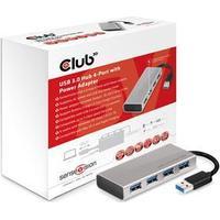 Club 3D CSV-1431 4-Port USB 3.0/3.1 Extern