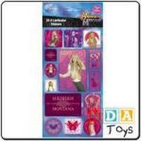 3D Lenticular Stickers - Hannah Montana