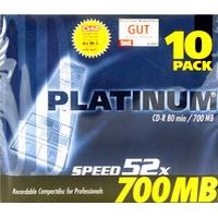 Q-CONNECT CD-R 700MB 52x Jewelcase 10-Pack