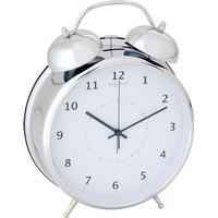 NeXtime Väckarklocka Wake up Silver 23cm