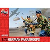 Airfix A01753 WWII German Paratroops 1:72 Scale Series 1 Plastic Figures