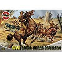 Airfix A01731 WWI Royal Horse Artillery 1:72 Scale Series 1 Plastic Figures