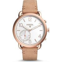 Fossil Q Tailor Hybrid Light Brown Leather