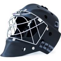 Blindsave Goalie Helmet Matt Black