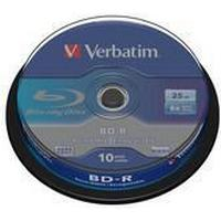 Verbatim BD-R 25GB 6x Spindle 10-Pack
