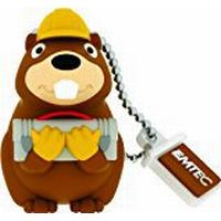 Emtec Animalitos 2 Building Beaver 8GB USB 2.0
