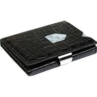Exentri Caiman Leather Wallet - Black (EX 101)