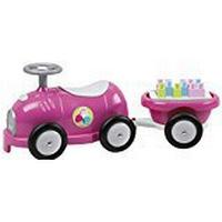 Ecoiffier Abrick 7749 - Ride-On Vehicle with Trailer and Brick